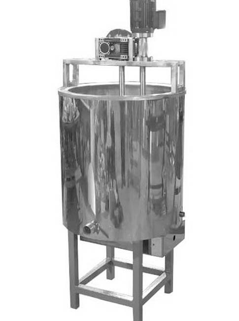 Варочный котел с быстроходной мешалкой, диссольвер 400 литров