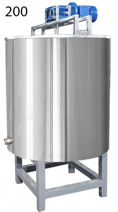 Котел для варки сиропа 200 литров